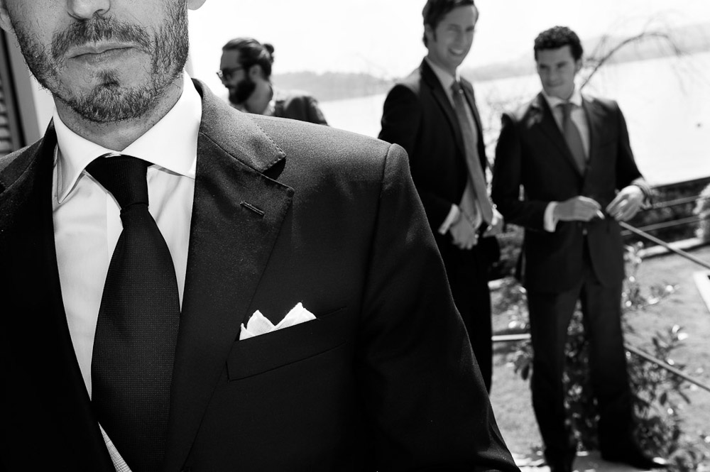 Italian wedding photographers, portfolio, Lake Orta wedding, groom's details