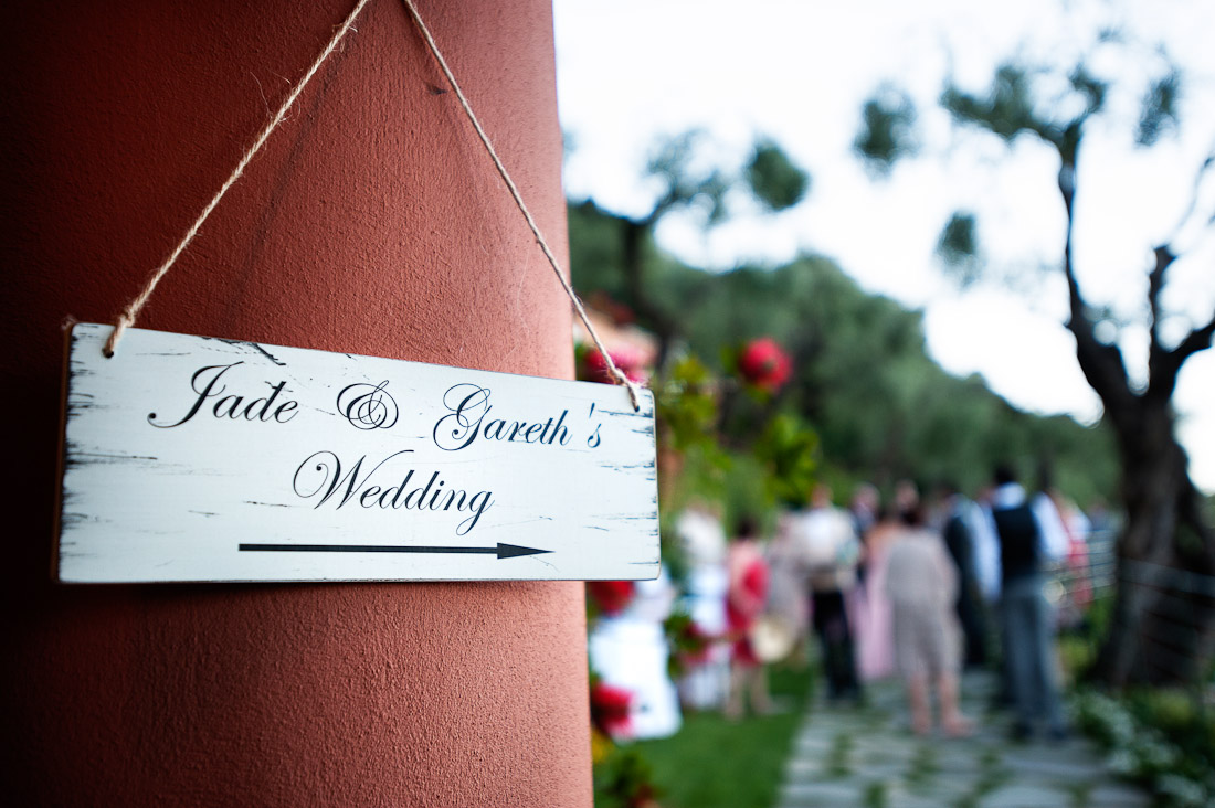 Jade and Gareth wedding in Portofino