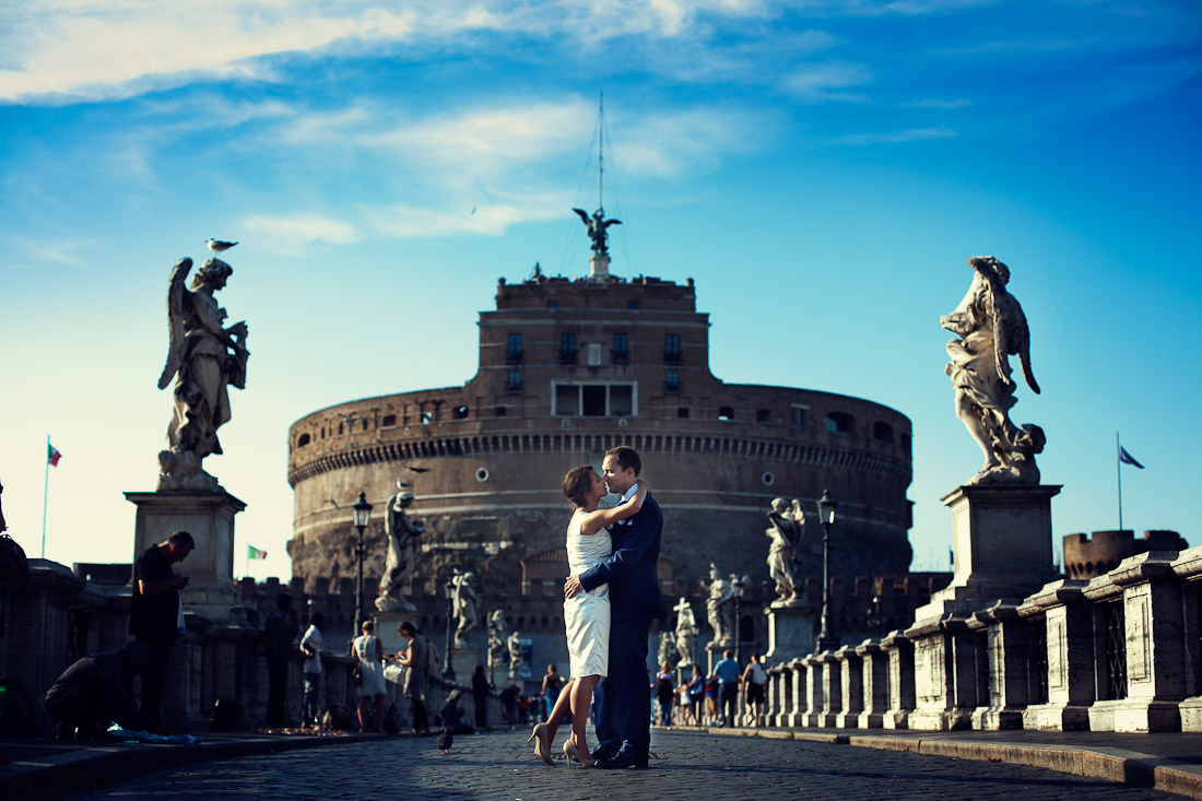 Hynde and Christian engagement in Rome