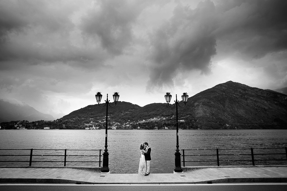 Ekaterina and Artem honeymoon shooting on Lake Como