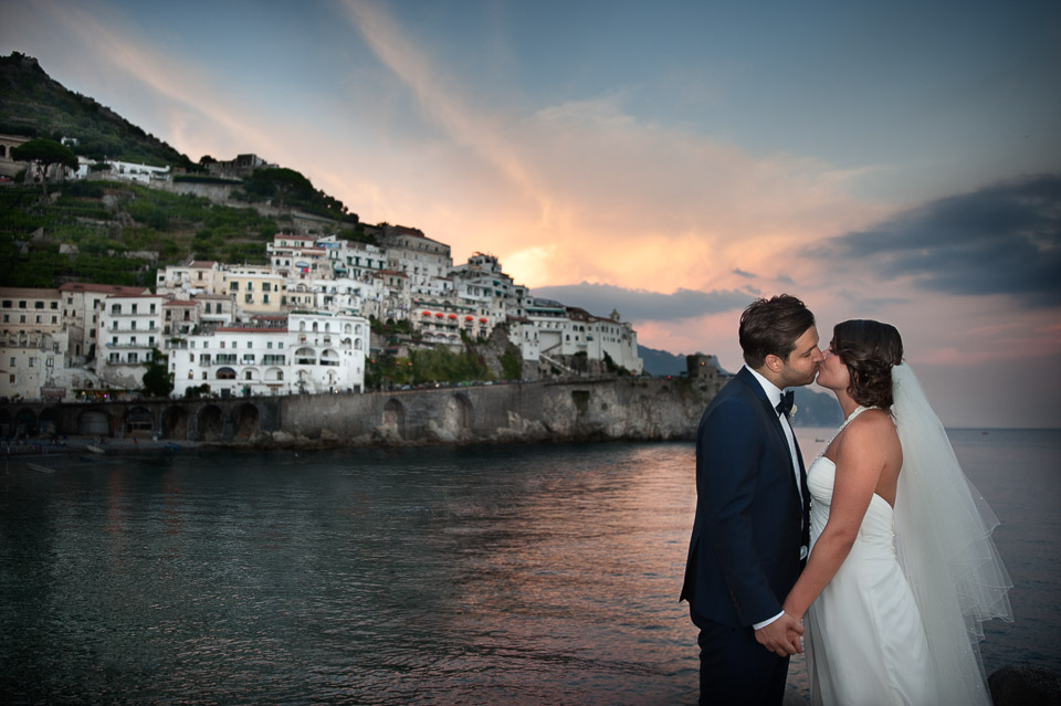 Samantha and Derek, wedding in Amalfi
