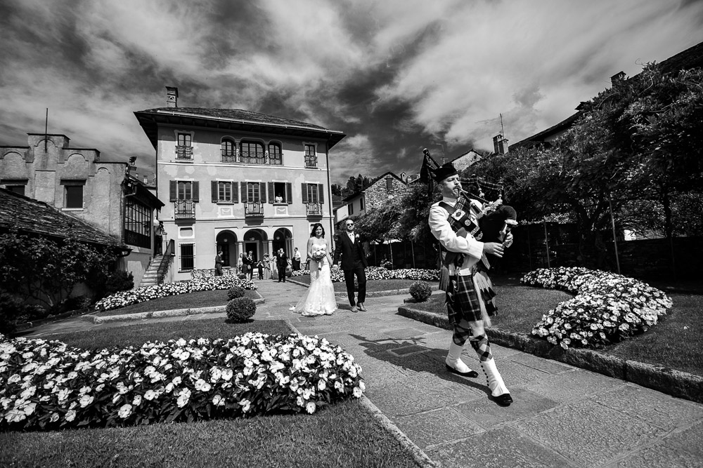 Ashleigh and Chris, a Scottish wedding on Lake Orta