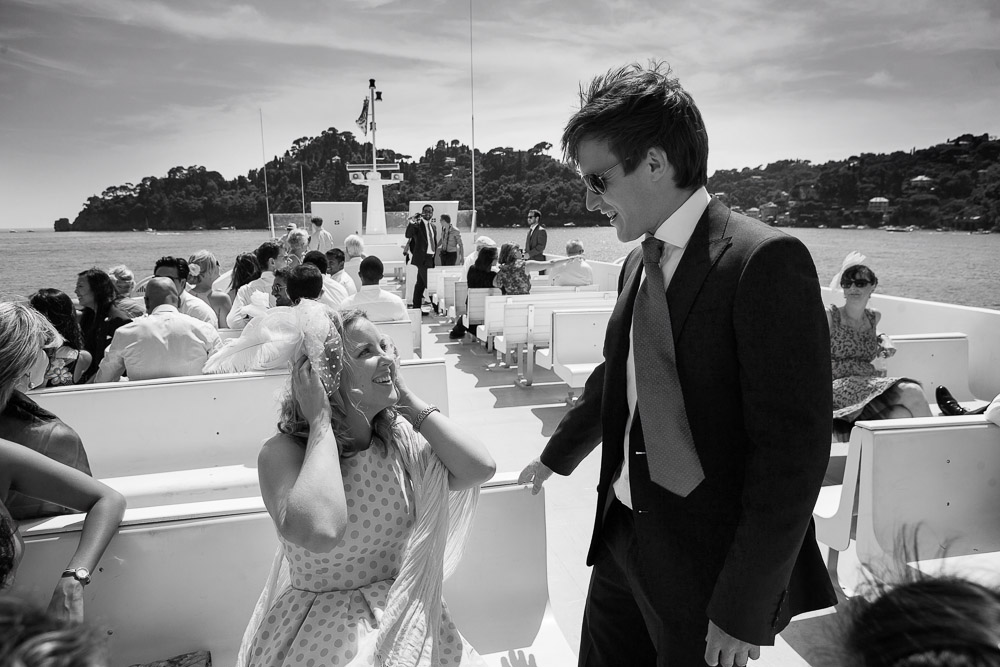 Portofino wedding, Rebecca and Oliver