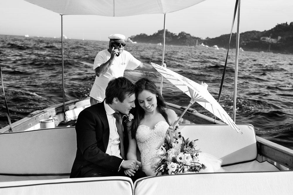 Rebecca and Oliver, wedding in Portofino Italian Riviera