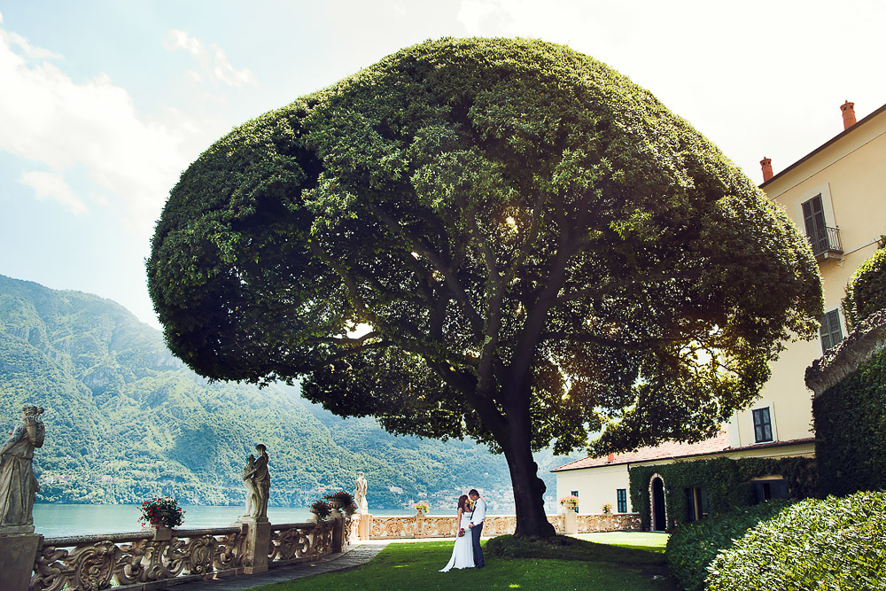 wedding photographer Italy, Villa Balbianello