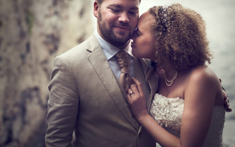 just married: Katie and Paul