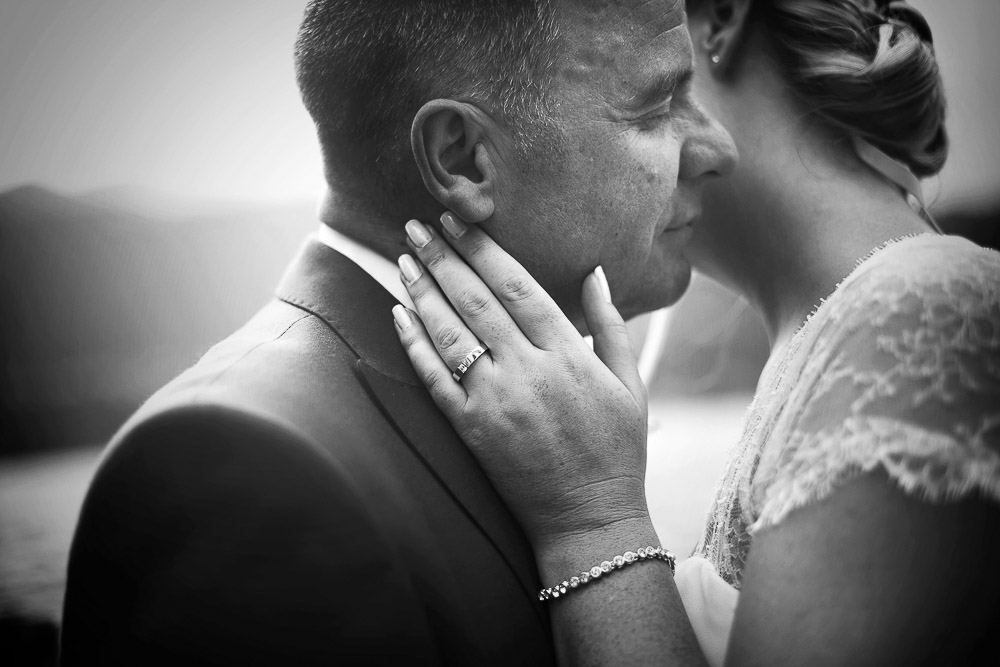 Just married: Selina and Mark