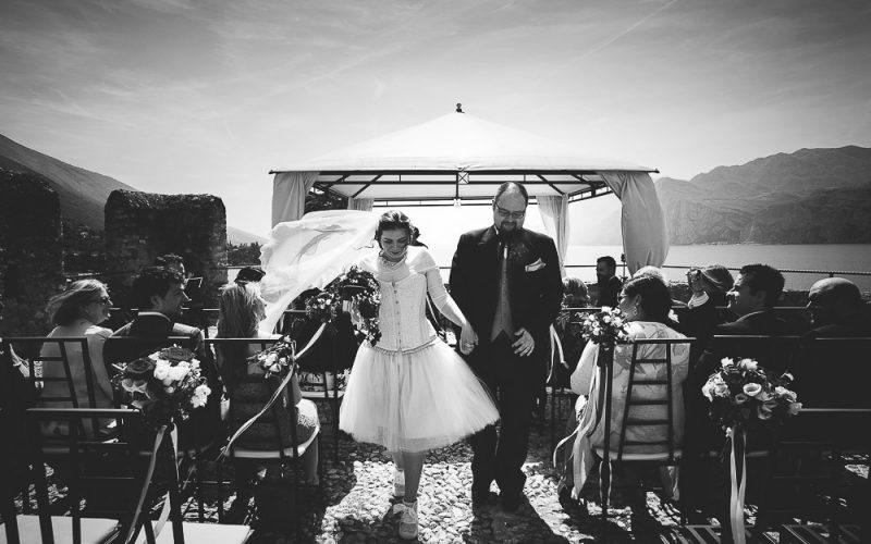 Lake Garda wedding photographer: Julia and Michael wedding