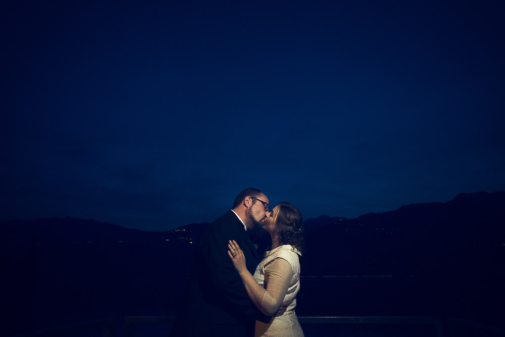 a kiss at the blue hour