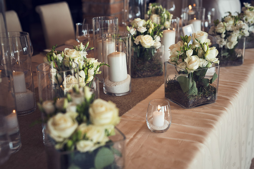 details on wedding tables