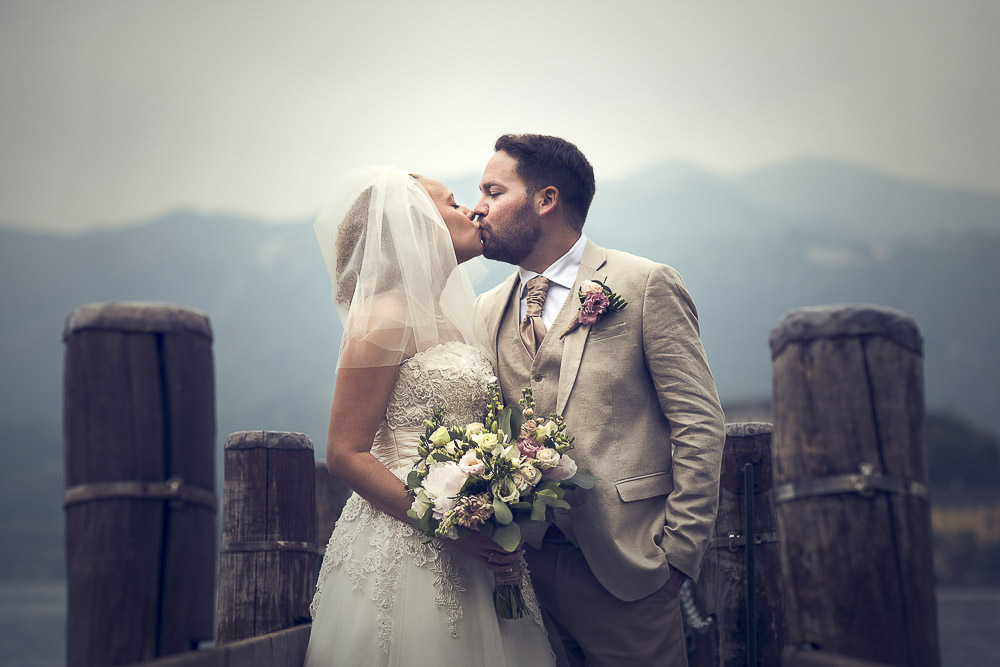 Lake Orta wedding photographer // Katie and Paul wedding.