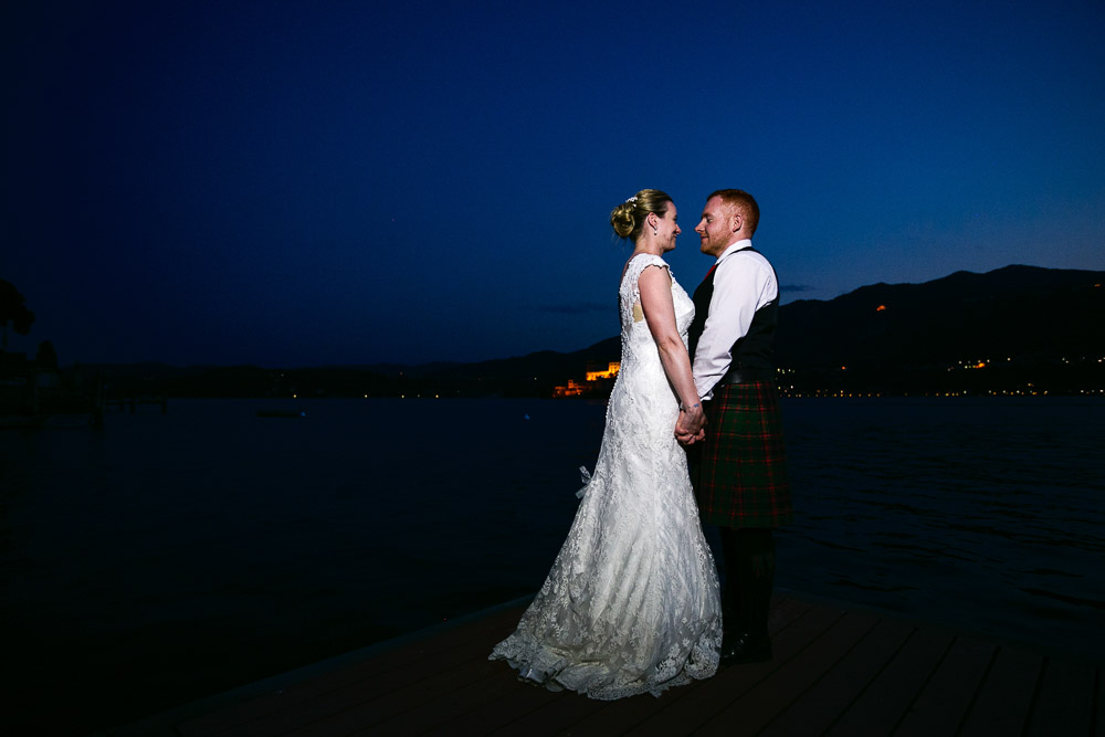 Scottish wedding in Italy