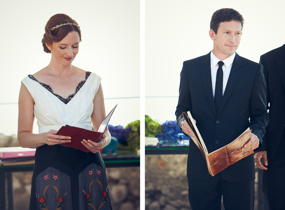 bride and groom readings