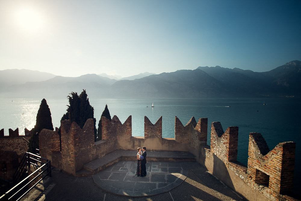 Lake Garda wedding: Virginia and Nicholas