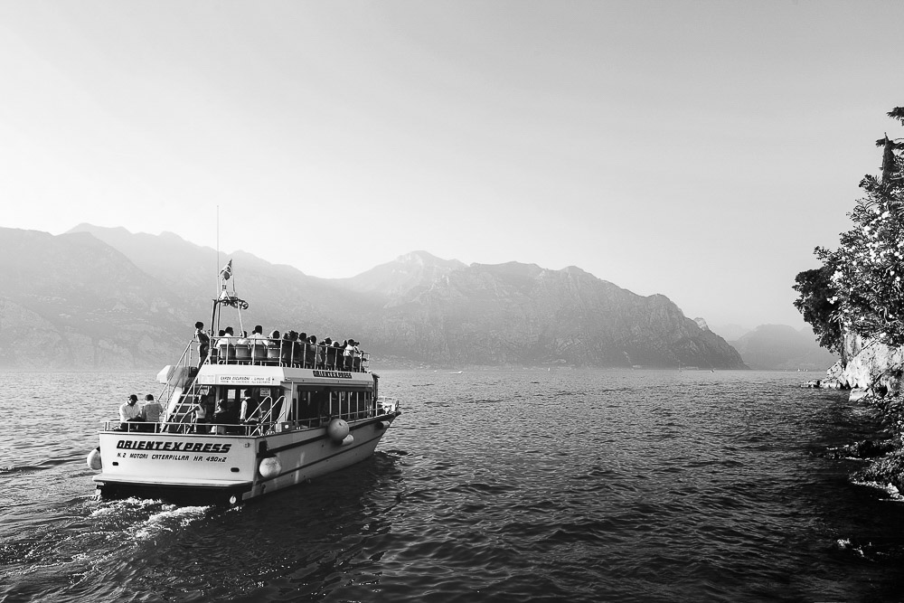 boat trip on lake garda