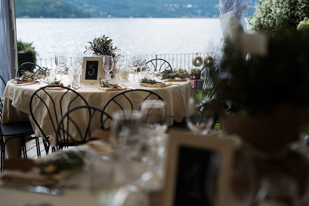 reception by the lake