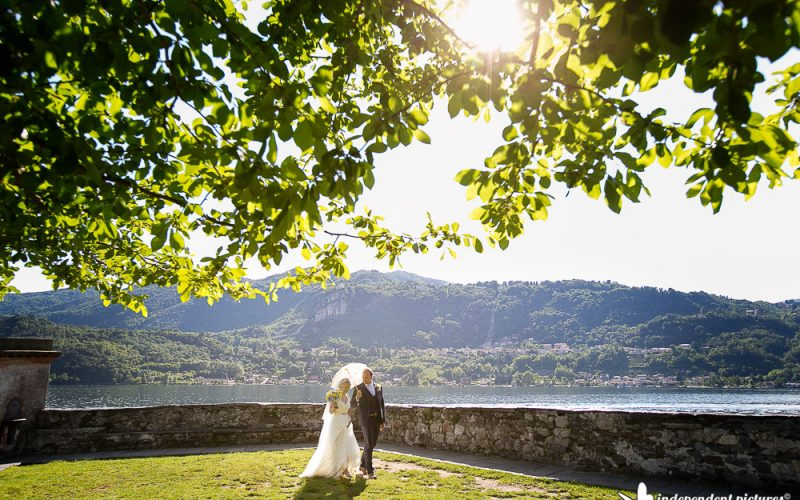 Orta wedding photographer // Lara and Fabrizio