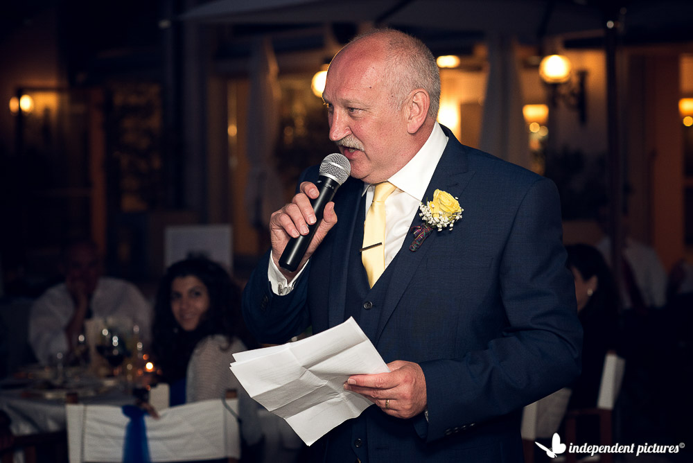 bride's father speech
