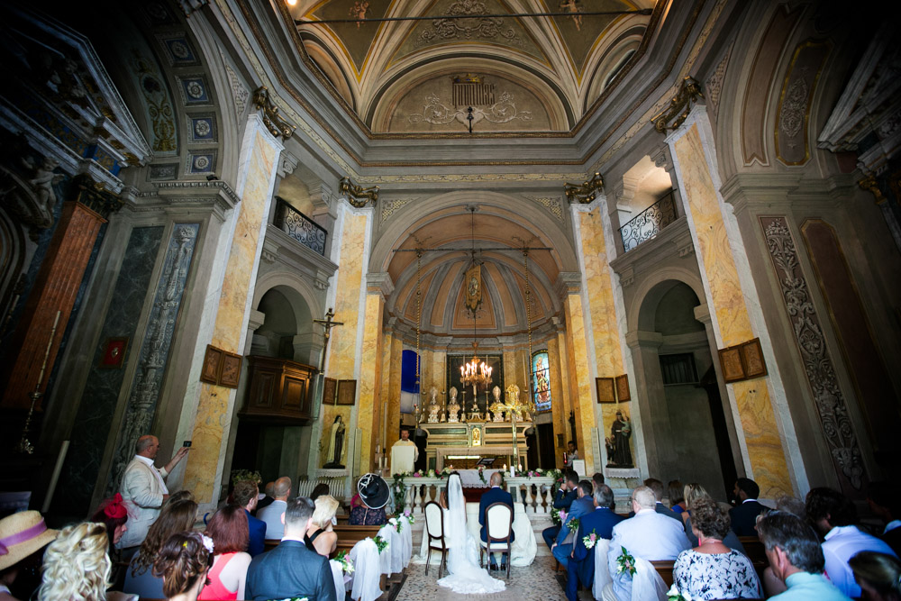 Catholic ceremony in the church