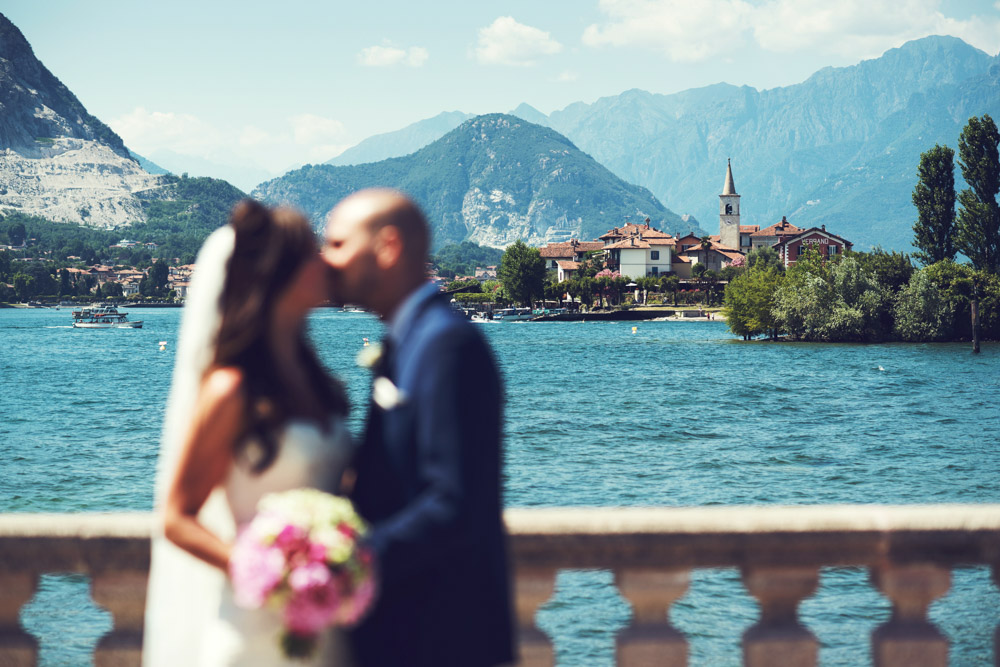beautiful wedding at lake Maggiore