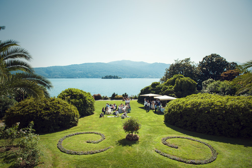 wedding at Villa Rusconi