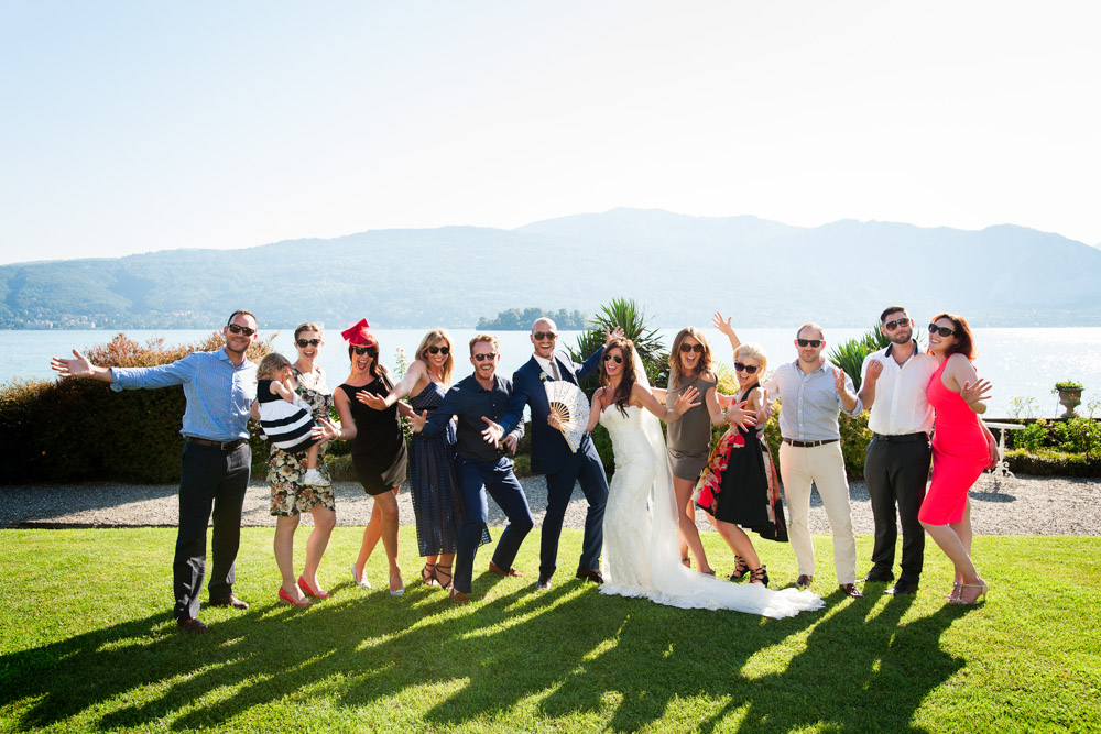 wedding at Lake maggiore