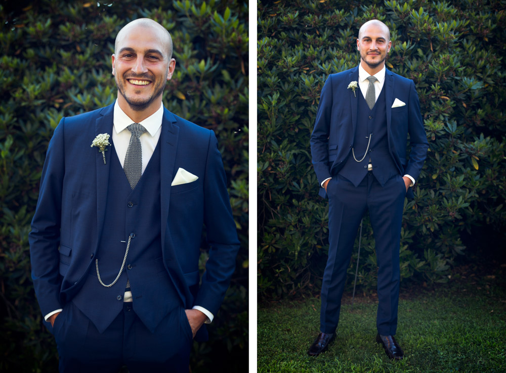 stunning groom in Italy