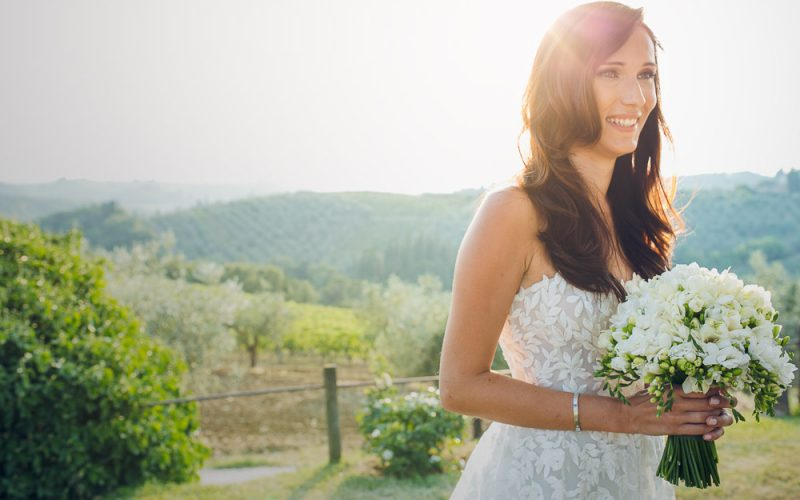 Tuscany wedding photographer // Katarina and Michael