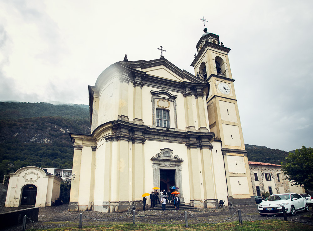 Mezzegra church