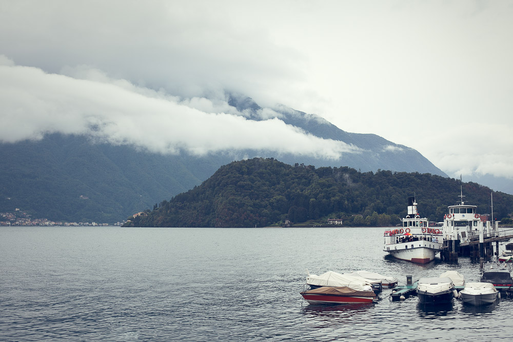 Lake Como harbour