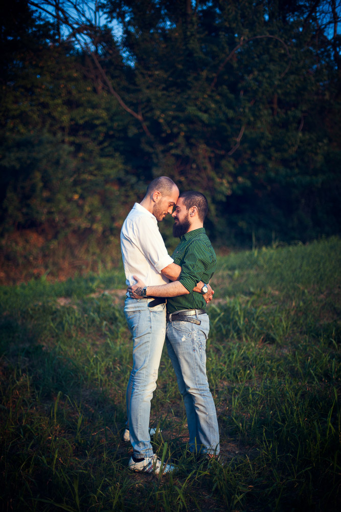 Patrizio and Roberto engagement