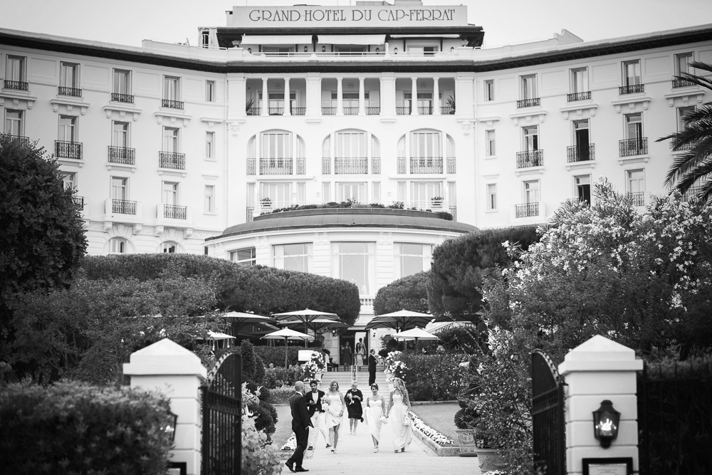 wedding at grand hotel cap ferrat
