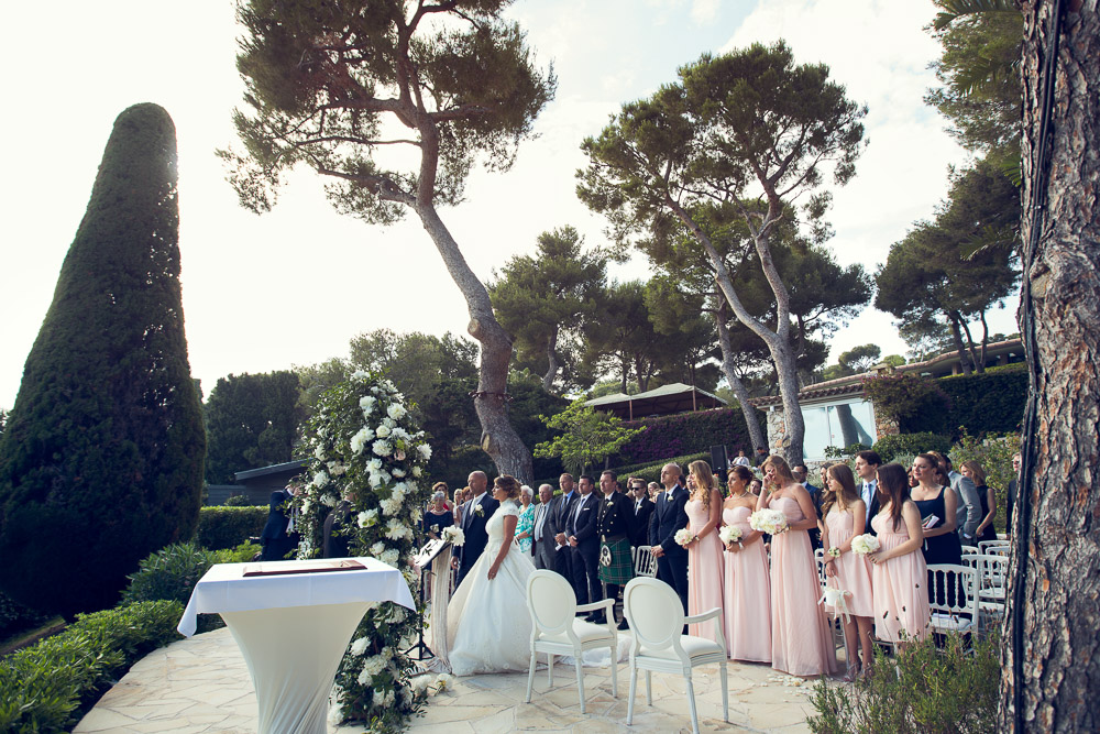 luxury wedding French Riviera