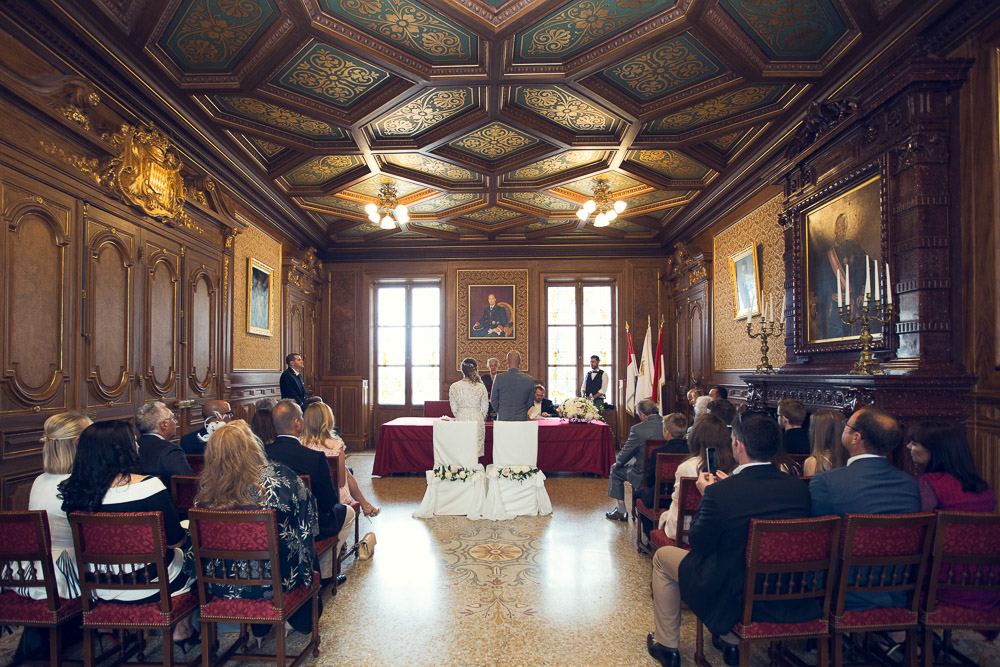 Principality of Monaco wedding