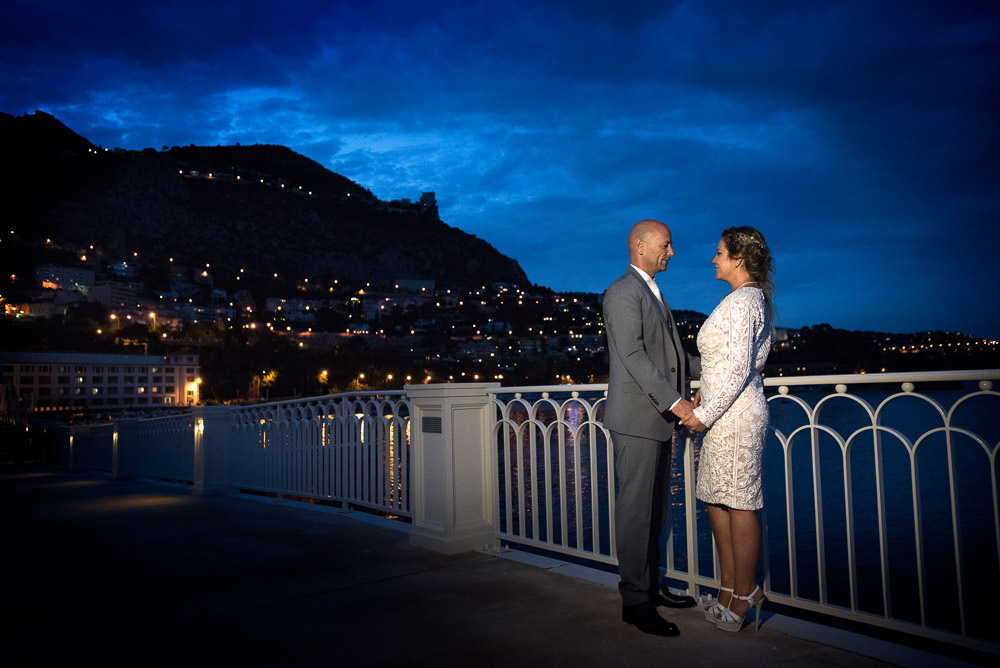 Principality of Monaco wedding at Monte Carlo bay