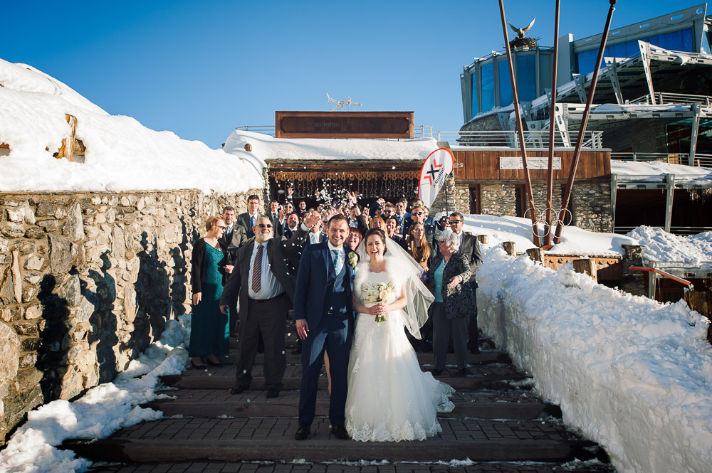 wedding group photo sestriere