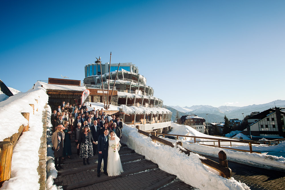 hotel Shackleton winter wedding