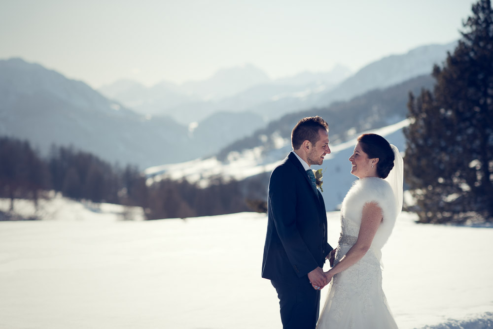 winter wedding in Sestriere
