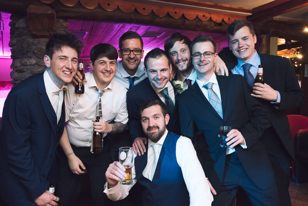 groom and the boys