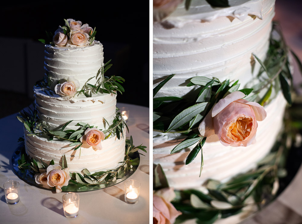 lake como wedding cake