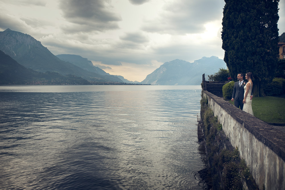 wedding by the lake Como