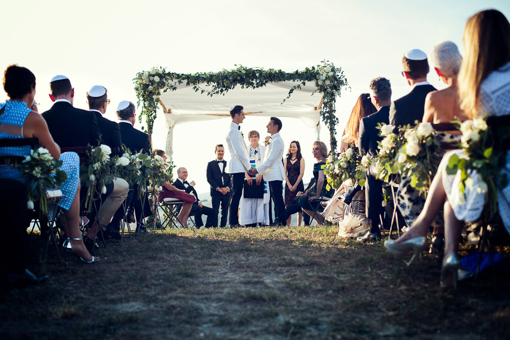same sex jewish wedding, chuppah picture