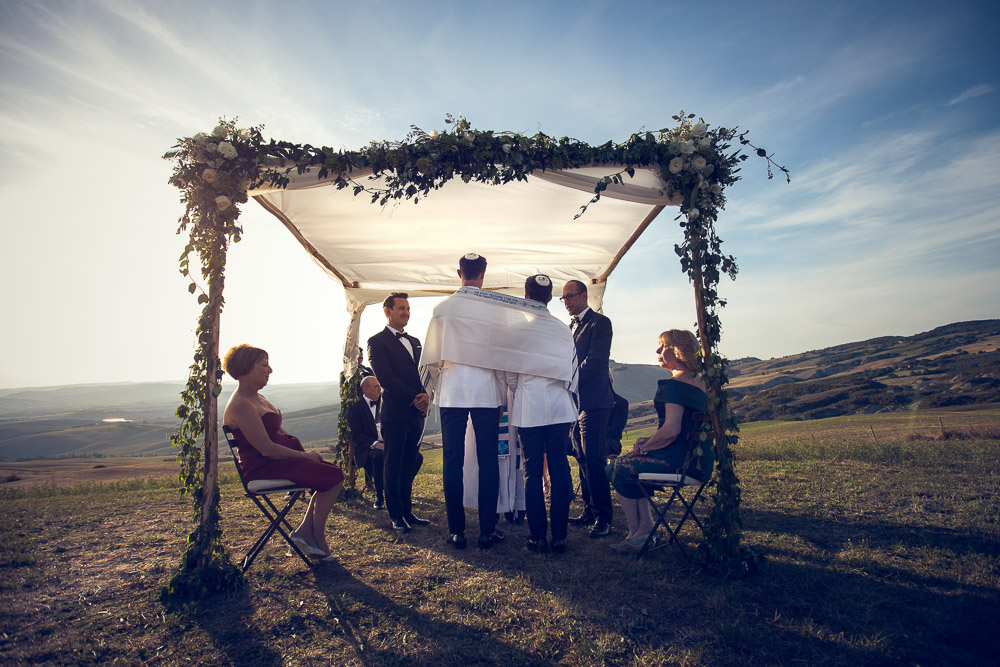 jewish wedding in Tuscany