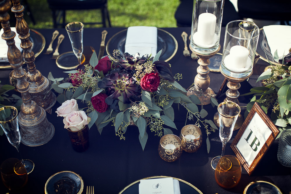 center piece wedding