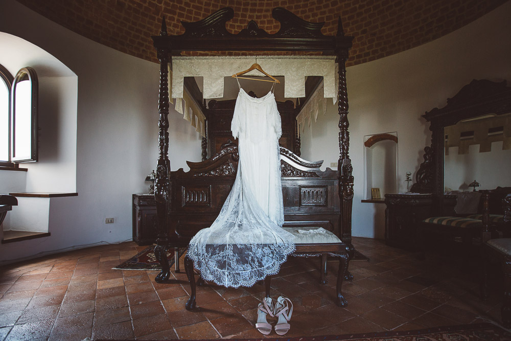 bucolic wedding dress