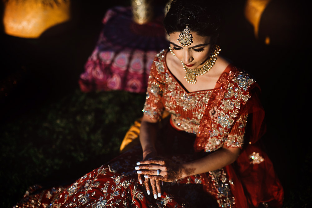 beautiful Indian bride in Italy