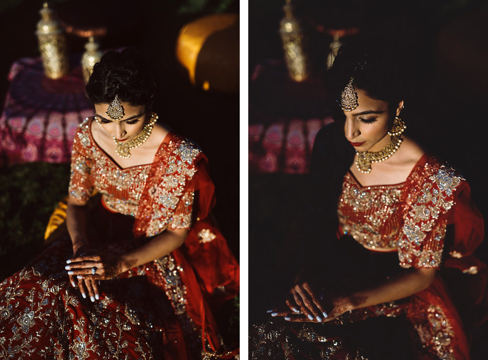 amazing Indian bride in Tuscany