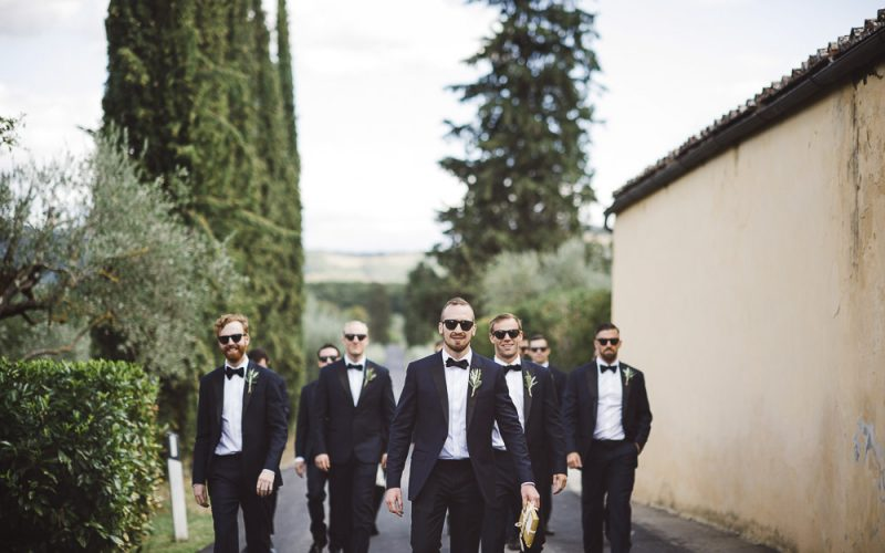 Enchanting Tuscany wedding in a Florentine villa