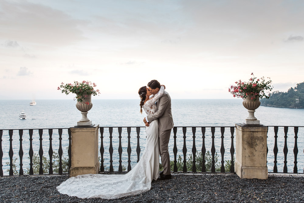 wedding in Portofino, La Cervara