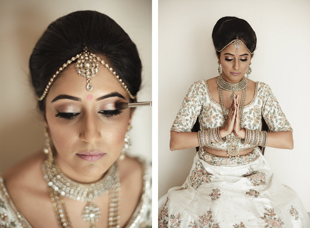 beautiful Indian bride, wedding in Italy